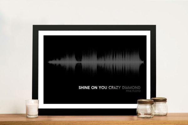 Buy Pink Floyd Soundwave Canvas Art Prints