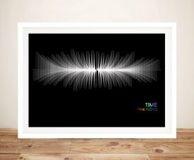 Pink Floyd Time Soundwave Music Wall Art Prints