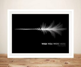 Pink Floyd Wish You Were Here Wall Art Print