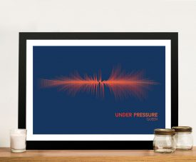 Buy a Soundwave Print of Under Pressure by Queen