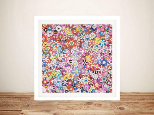 Buy Shangri-La Pink Japanese Anime Wall Art