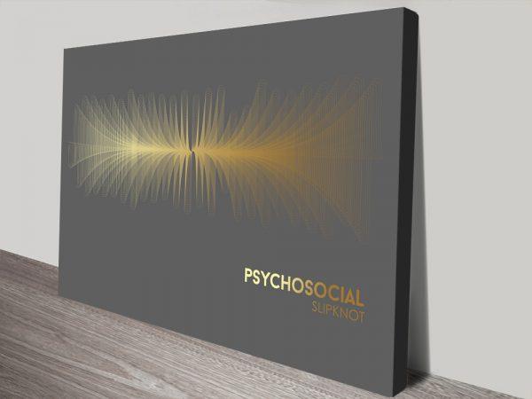 Buy a SlipKnot Psychosocial Print Gift Ideas AU