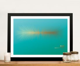 Buy a Soundwave Print for the Song Run by Snow Patrol