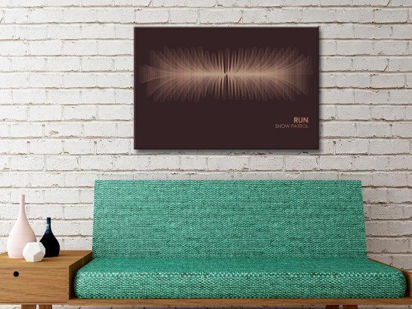 Buy Snow Patrol Soundwave Art Great Gifts Online