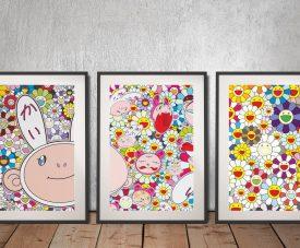 Buy Colourful Anime 3-Piece Canvas Art