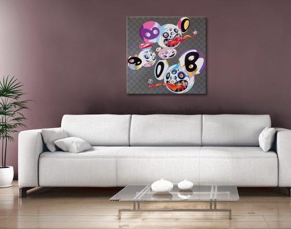 Buy Colourful Cartoon Graffiti Prints Gift Ideas Online