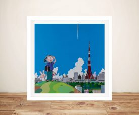 Buy Tokyo Tower Affordable Canvas Wall Art