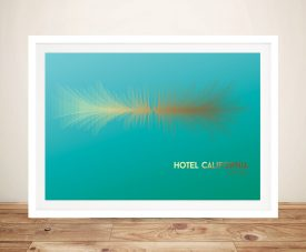 Buy Hotel California in Soundwave Wall Art