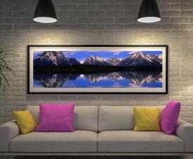 Alpine Lake Framed Art
