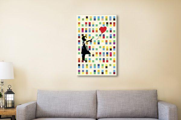 Banksy Balloon Girl Art Online