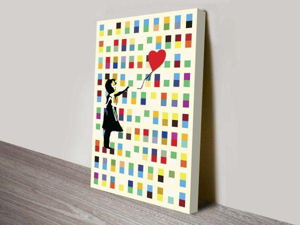 Balloon Girl Wall Art Online