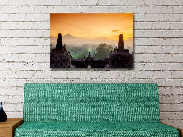 Buy Affordable Borobudur Temple Art Online