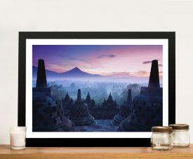 Buy Borobudur Temple Yogyakarta Framed Art
