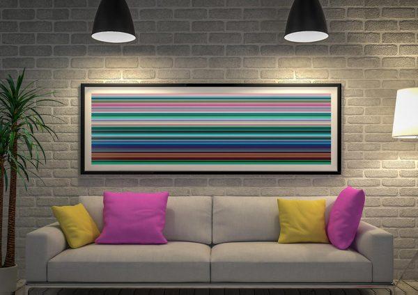 Gerhard Richter Stripes Artwork Sydney