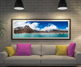 Buy a Stunning Panoramic Print of the Himalaya's