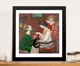 Buy a Classic Wall Art Print of Les Coquettes