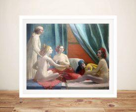 Buy Les Odalisques a Classic Wall Art Print