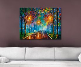 Buy Misty Mood Leonid Afremov Canvas Art