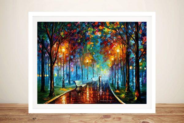 Buy Misty Mood Leonid Afremov Framed Art