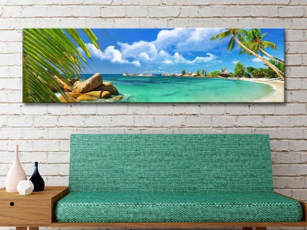 Buy Paradise Palms Cheap Framed Art Online