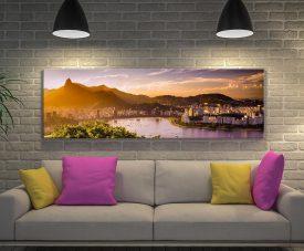 Buy Rio de Janeiro Cityscape Panoramic Artwork