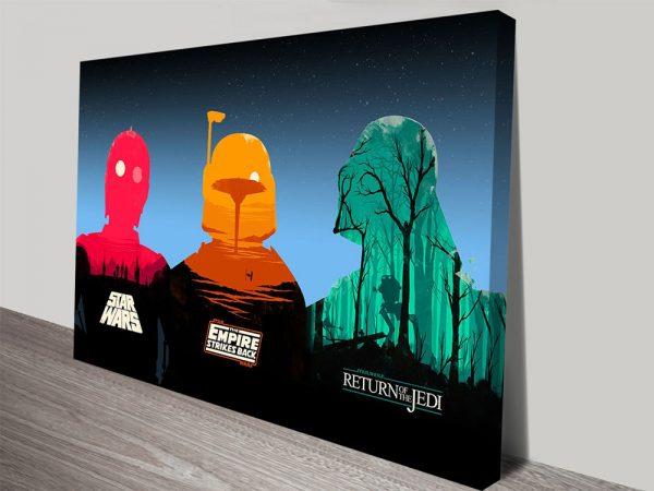 Buy Colourful Star Wars Pop Art Prints Cheap Online