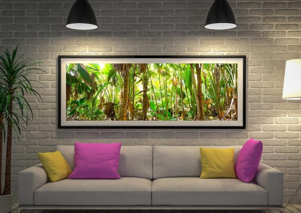 Buy a Tropical Rainforest Panoramic Canvas Artwork