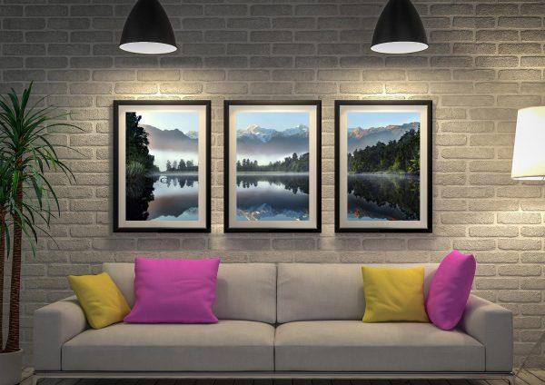 Buy Lake Serenity 3-Panel Wall Art Set of Prints