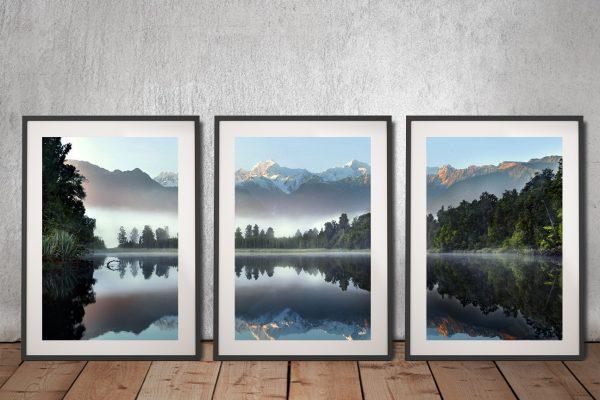 Buy a Mountain Scene Triptych Set Gift Ideas Online