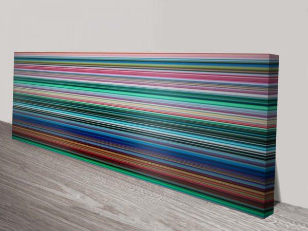 Gerhard Richter Stripes Canvas Print