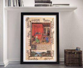 Buy Birth of the Baptist Framed Classic Wall Art