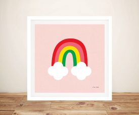 Buy Bright Rainbow ll Ann Kelle Kids Wall Art