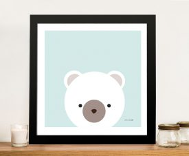 Buy Cuddly Bear Kid's Colourful Wall Art Prints