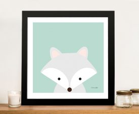 Buy a Cuddly Fox Adorable Kids Canvas Print