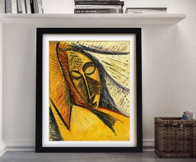 Buy Head of a Sleeping Woman Picasso Canvas Art