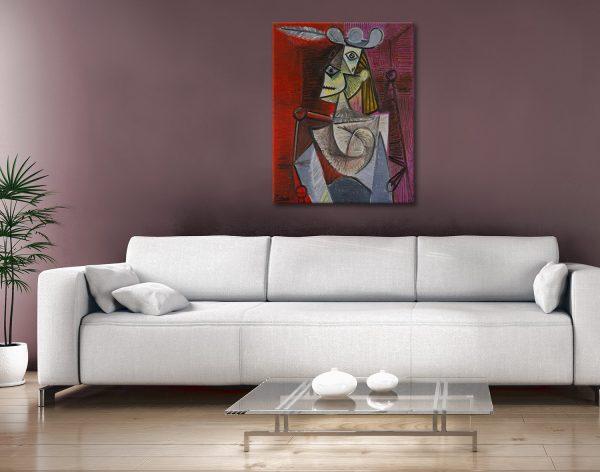 Buy Woman in an Armchair Great Gift Ideas AU