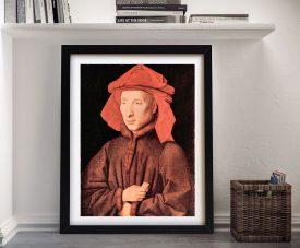 Buy a Framed Print of Portrait of Giovanni Arnolfini