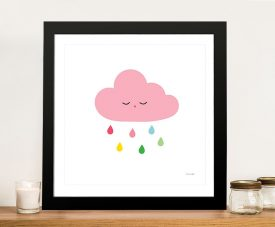 Buy Sleepy Cloud ll Sweet Wall Art for Kids