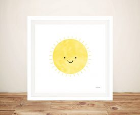 Buy Sunny Days Framed Canvas Children's Wall Art
