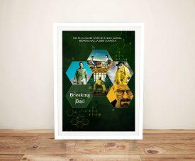 Buy a Spanish Breaking Bad Framed Poster Print