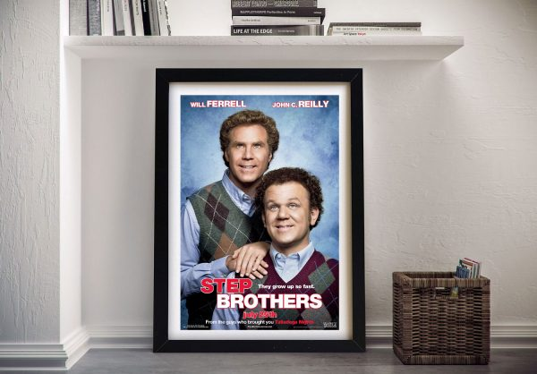 Buy Step Brothers Hilarious Movie Poster Print