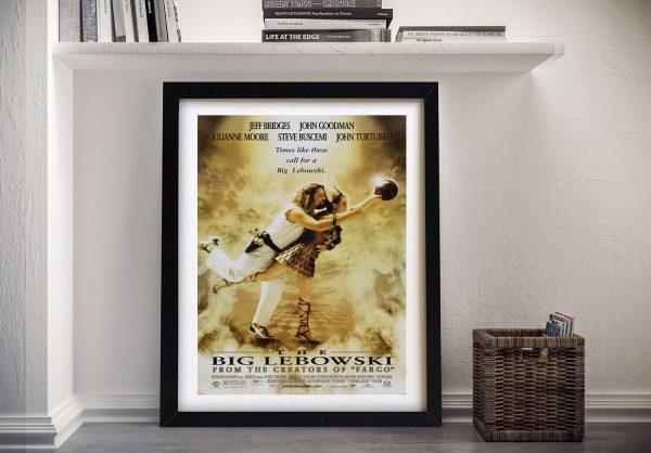 Buy a Framed Big Lebowski Canvas Poster Print