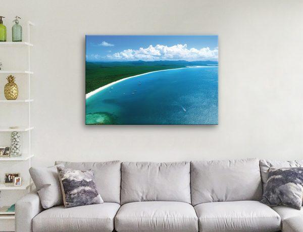 Buy a Print of Whitehaven Beach Cheap Online
