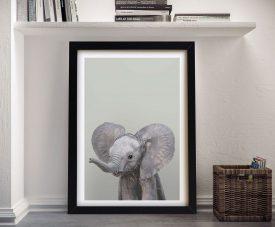 Buy a Sweet Baby Elephant Canvas Print