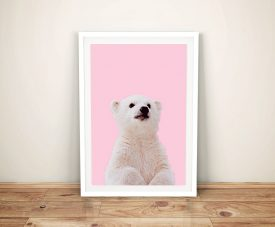 Buy a Print of a Polar Bear Cub for the Nursery