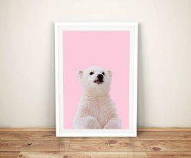 Buy a Print of a Polar Bear Cub for the Nursery