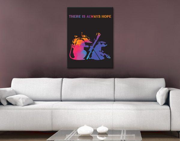 Buy Unique Banksy Prints Great Gift Ideas AU