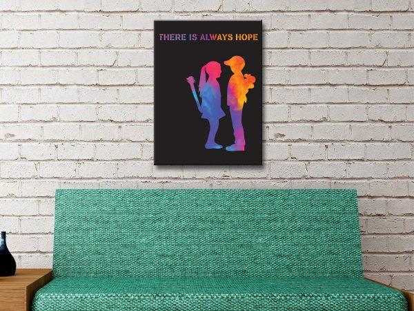 Buy Banksy Boy Meets Girl Graffiti Wall Art Prints