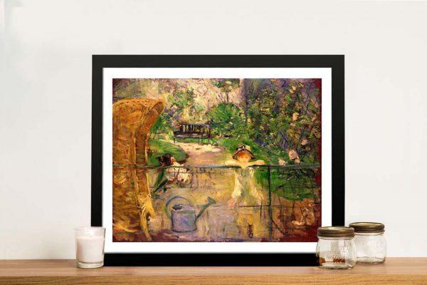 Buy Chair in the Garden Berthe Morisot Framed Art