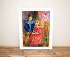 Buy a Framed Print of Children of Gabriel Thomas